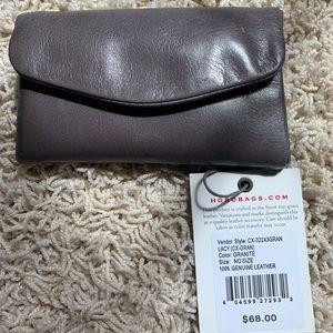 Hobo wallet w/ keychain